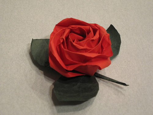 Origami: A Rose By Any Other Name | Together With Japan - photo#30